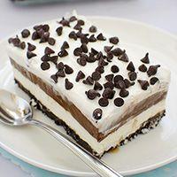 Chocolate Lasagna - Chocolate Desserts OMG