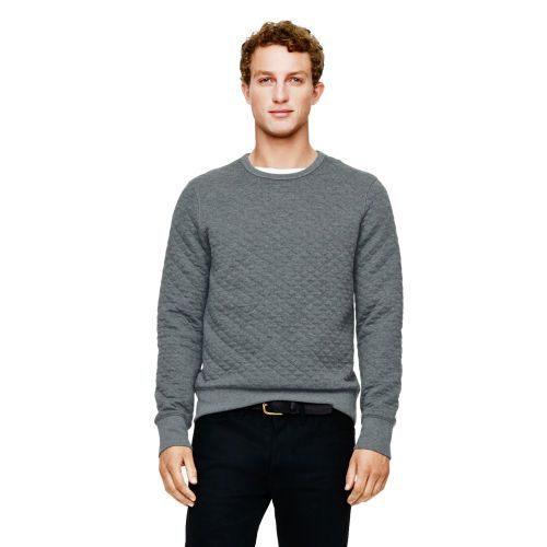 Quilted sweatshirt by Club Monaco