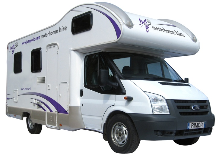 The Nomad motorhome is great for families with a couple of children or  groups of friends who don't want to share beds!    It has two bunk beds, a double bed over the luton and the dinette converts into a full sized double bed.     The kitchen comes fully equipped and the bathroom has a shower and toilet. It is the perfect motorhome for small families.