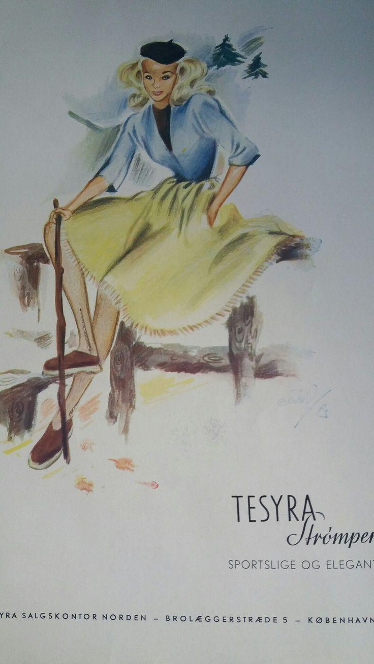 Christel 1943 Ugebladet Tidens Kvinder Reklame