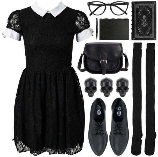 Nu goth fashion