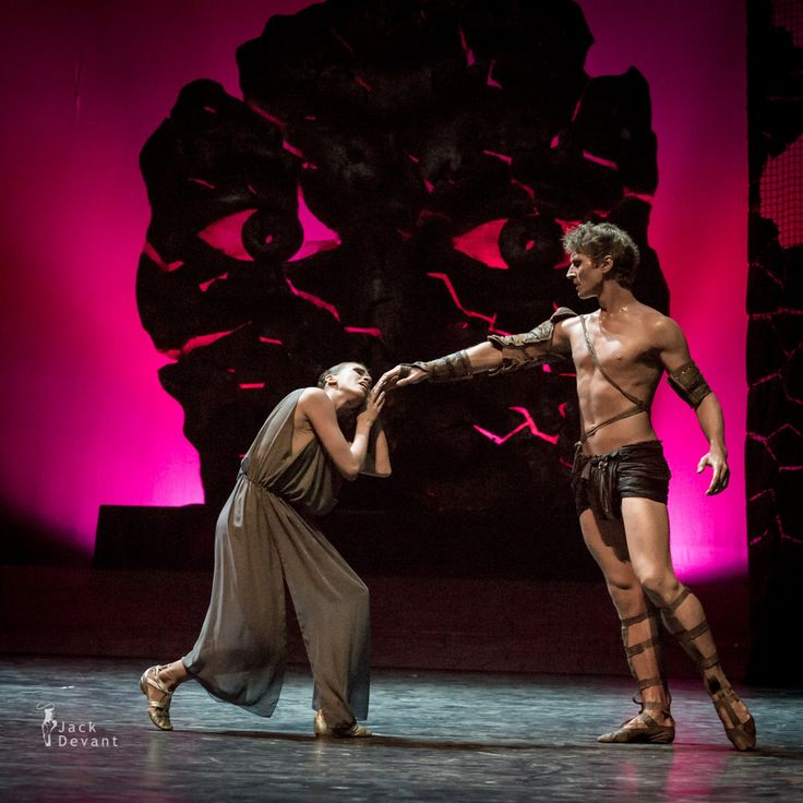 <p>Anna Ignatieva (written also Anna Ignatyeva) as Phrygia and Maksim Tkachenko (Максим Ткаченко) as Spartacus in Spartacus act 1 by Yakobson Ballet. Music by Aram Khachaturian, choreography by Leonid Yakobson. Shot on 10.8.2014 in Tallinn, Birgitta Festival 2014. Photo by Jack Devant ballet photography © with kind permission of the St. Petersburg Yakobson …</p>