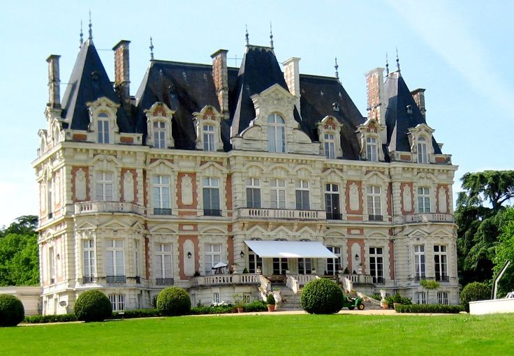 Le Bourg-d'Ire chateau / country house rental - Chateau de la Douve, wonderful place to stay all year with friends and family