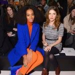 Solange Knowles and Anna Kendrick at the Milly By Michelle Smith