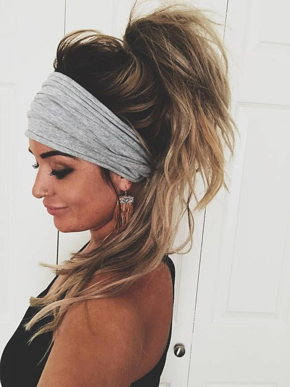 As seen on Teen Mom 2s Chelsea Houska! ▲▲▲ Made From Cotton/ Jersey Mix Fabric ▲▲▲ Super Soft & Stretchy & Made to fit any size head ▲▲▲ Perfect for college days, late days, bad hair days, summer days, cold days, lazy days ▲▲▲ Wear it as an Extra Wide style or Turban Style! ▲▲▲ Comes with instructions on how to obtain either look