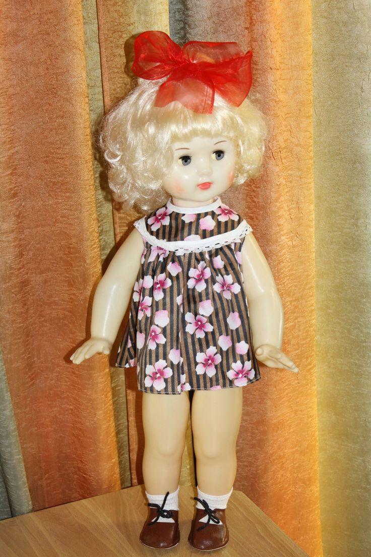Картинка советской куклы