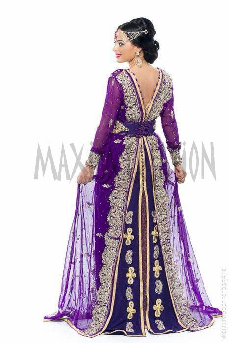 2016 Royal Moroccan Caftan Wedding Abaya Bridal Gown Marriage ...
