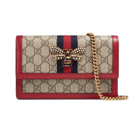c3c96e11915 Queen Margaret GG mini bag - Gucci Women s Chain   Straps Wallets  4760799I6QT8540
