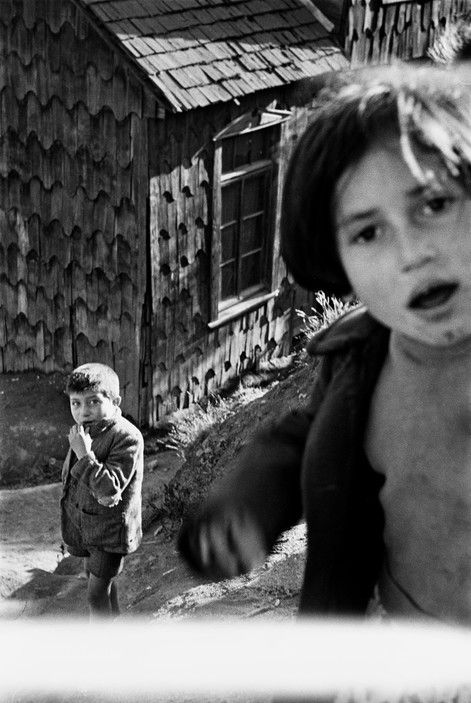 Sergio Larrain - CHILE. Region of Los Lagos. Island of Chiloe. 1960.
