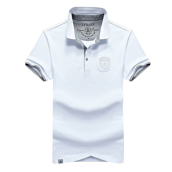 Mens Polo Shirt Turndown Collar Short Sleeve Solid Color Spring Summer Casual Tops US$23.44 US$ 44.22 47% OFF SHIPPING WORLDWIDE GO TO STORE  https://www.newchic.com/polo-4982/p-1140820.html?p=7N04254894170201705E