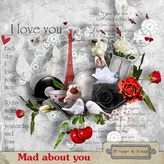 Mad about you by Black Lady Designs