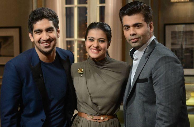 TV Review: Kajol and Ayan Mukerji on 'Koffee With Karan' — BollyBrit