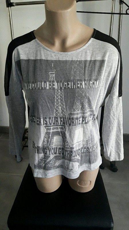 Tshirt tour Eiffel kiabi femme taille 38 40
