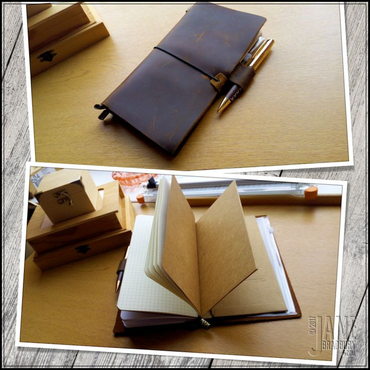 My first traveller's notebook arrives and I love it. Here's a few reasons why...