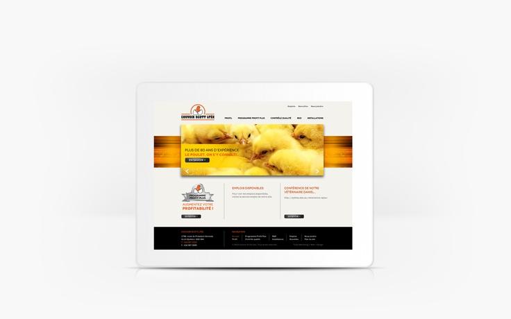 Couvoir Scott | www.couvoirscott.com | Site Web | Team Marketing • Web • Design