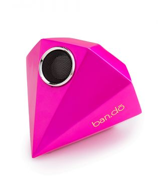 Giant GemSpeaker - such a perfect dorm accessory for laptops, phones and ipods! Ya, you can charge it up and not have a cord!