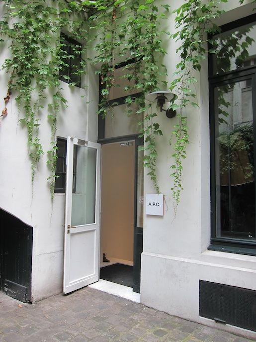 A.P.C. Covered in Ivy Vines