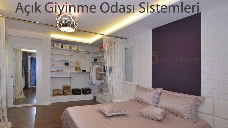 açık giyinme odası sistemleri ve ürünleri