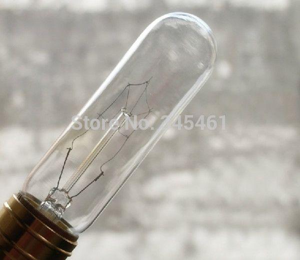 Американский Стиль 2 шт. T10 Эдисон Лампы E27 лампа Накаливания классический лампы для Party club кафе-баров стеклянные лампы лампы