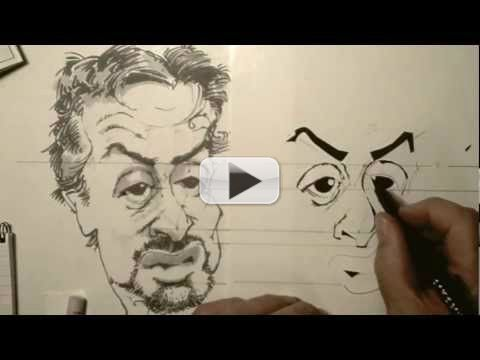 How To Draw Caricatures - Best Way on Youtube - Learn ...