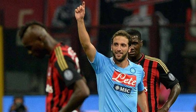 Chelsea's £50m bid for Higuain rejected