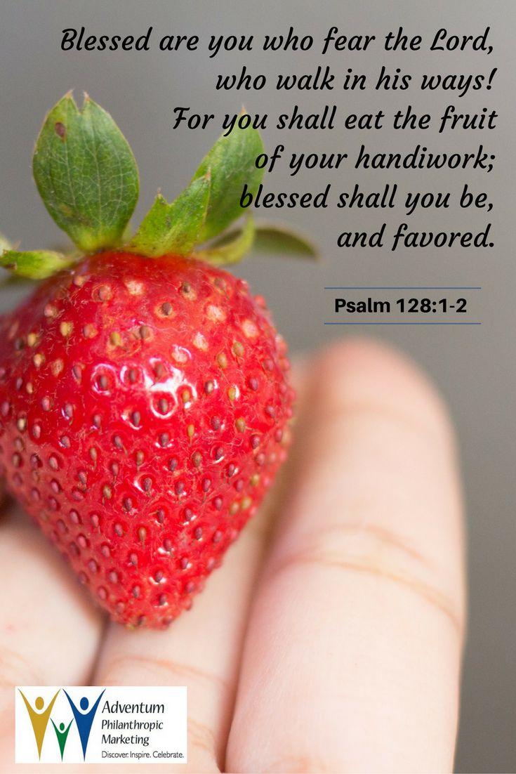 October 25, 2016 – Psalm 128:1-2