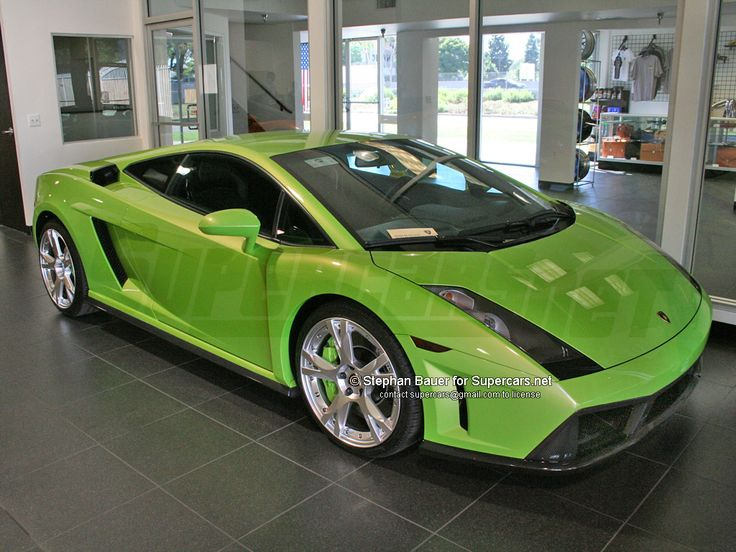 Fast Cars: Lamborghini Gallardo Fast Sports Car