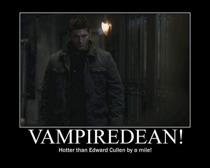 Accurate. <--- I beg to differ *gasp* I mean come on guys VampireDean is way hotter than Edward, so if you look at it the mile only covers maybe his left hand in comparison to Edwards. ( *shrugs* I felt like I needed to say a typical fangirl thing)