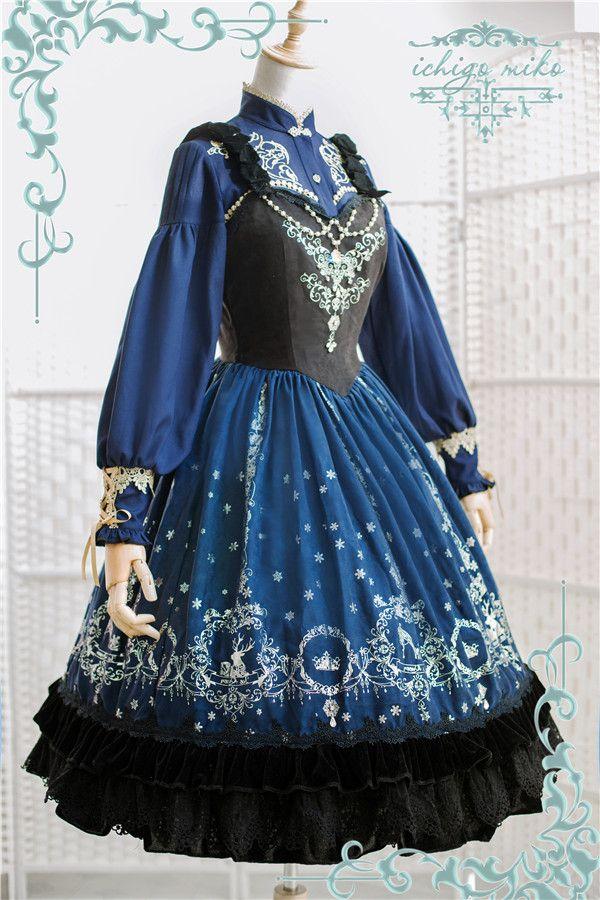 New Release: IchigoMiko ♛~Ice Queen~♛ Lolita Corset JSK ...