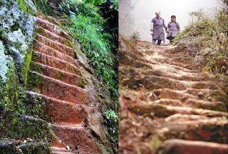 Έσκαψε 6.000 σκαλοπάτια στο βουνό για χάρη μιας γυναίκας! | διαφορετικό