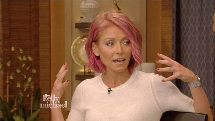 Love It! Kelly Ripa's Pink Hair