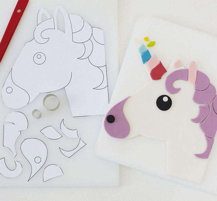 Diy Unicorn Emoji Cake Party Pieces Blog Amp Inspiration