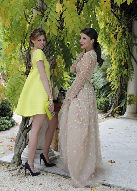 Manuela Velasco con vestido de Valentino coleccion crucero 2014