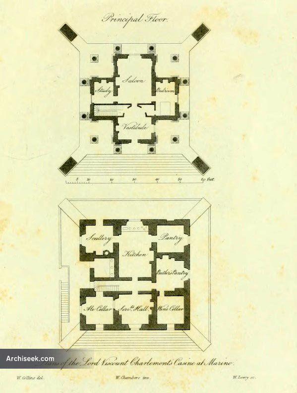 1773 - Casino, Marino, Dublin - Architecture of Dublin City - Archiseek - Irish…