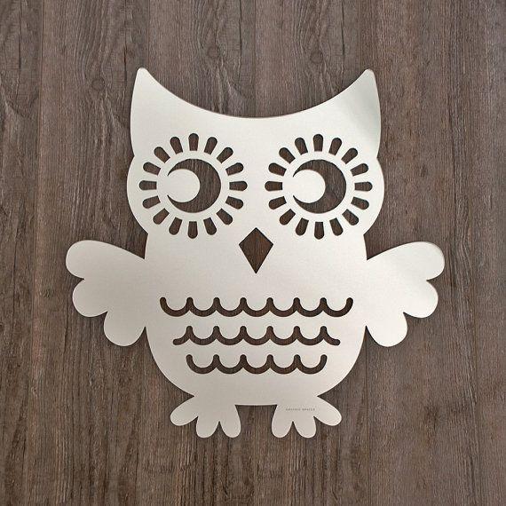An owl AND a mirror - love love!!