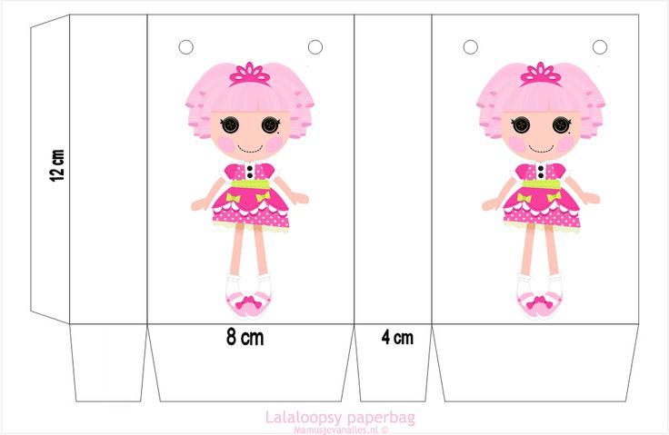 Free Printable Lalaloopsy party paperbag