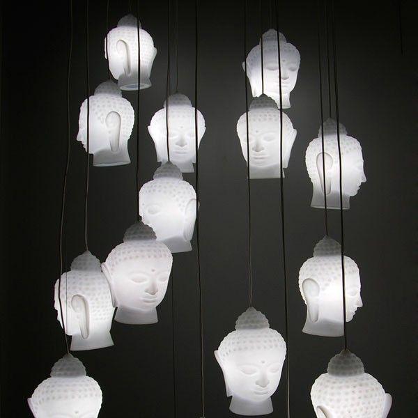 Slide Buddha Pendant Lighting
