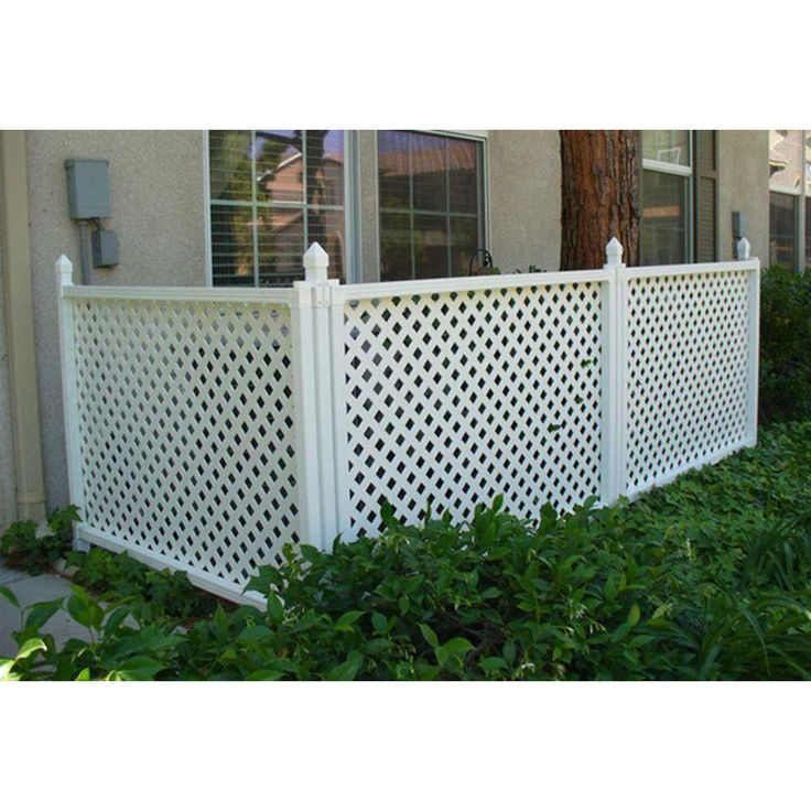 Snapfence 2 Ft 7 5 In X 4 Ft W White Modular Vinyl