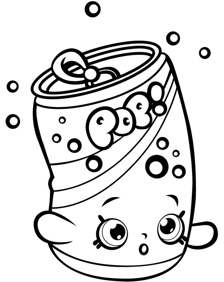 53 Best Shopkins Coloring Pages Images