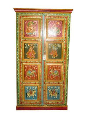 ANTIQUE-GANESHA-ARMOIRE-INDIAN-HAND-PAINTED-CABINET-WARDROBE-BOHO-HOME-DECOR  https://in.pinterest.com/pin/546694842251202202/