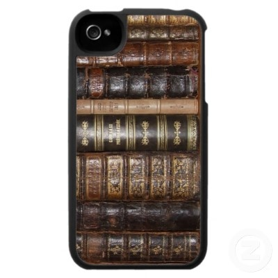 Alte Bücher iPhone 4 Hülle