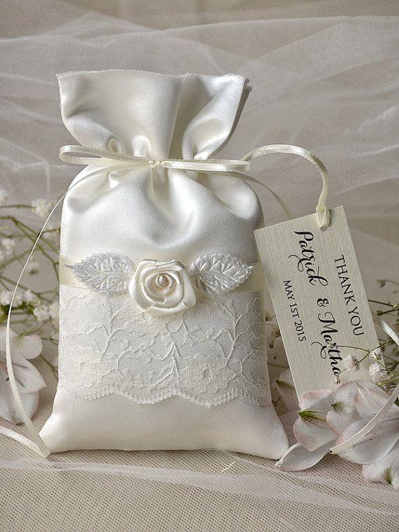 Vintage Wedding Favor Bag Lace Wedding Favor by 4LOVEPolkaDots, $2.00