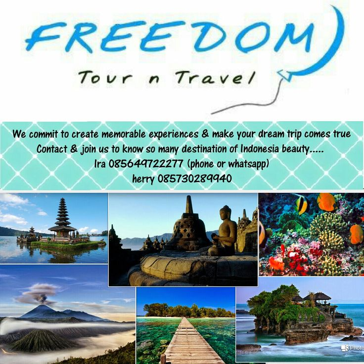 Tour in indonesia with freedom tour indonesia  More info +6285730289940 Www.freedomtourindonesia.com