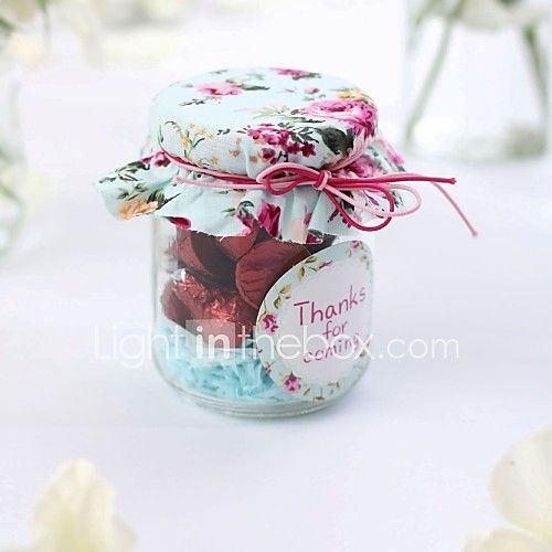 Pastoral Style Glass Candy Jars - Set of 12 (More Colors) 2017 - €19.59