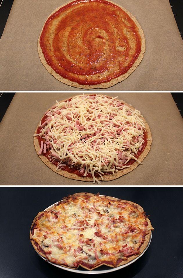 Utroligt hurtige pizzaer, hvor en tortillapandekage udgør bunden, så de er ekstra nemme.
