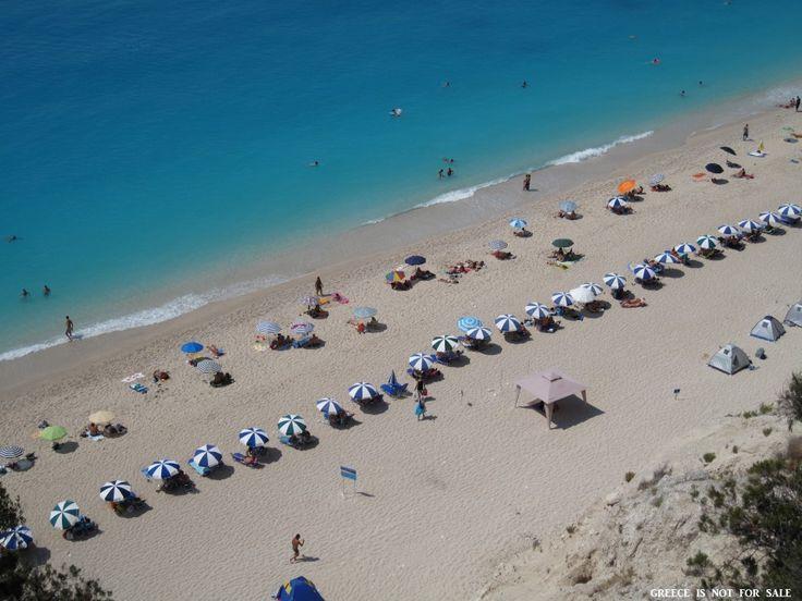 Egremnoi, Lefkada, Ionian Islands, Creece.