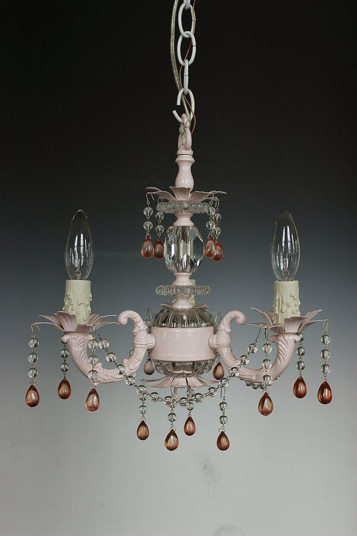 85 best images about custom chandeliers lamps on pinterest - Shabby chic lighting fixtures ...