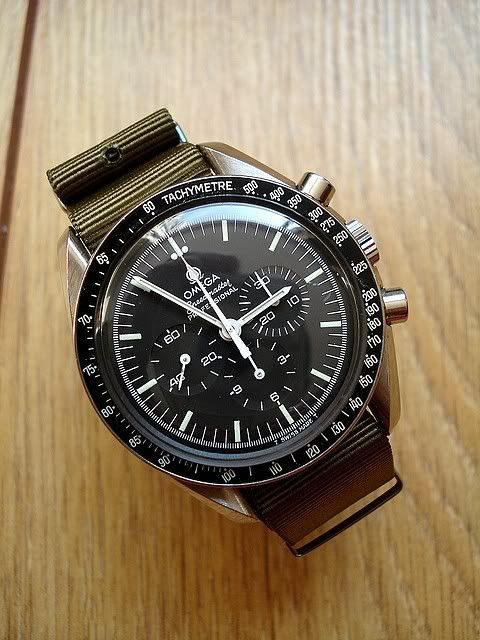 NATO Strap on Speedmaster - Yes or No? | Raddest Men's Fashion Looks On The Internet: http://www.raddestlooks.org