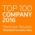 Accenture Named to Thomson Reuters Index of World's Most Diverse and Inclusive Companies