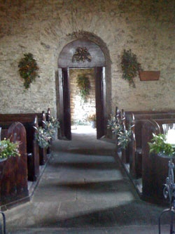 K Jones Kinsale Interior of the Church of St Brendan the Navigator, Crookhaven, on the ...